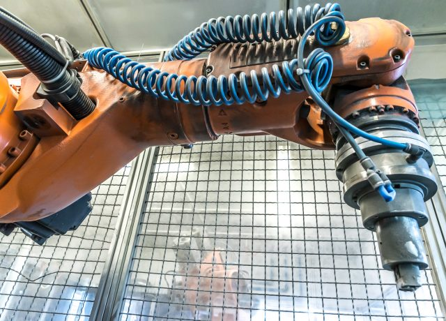 Roboterbearbeitung Industrie